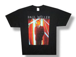 Paul Weller-(The Jam)-Sonik-2013 Tour-Black T-shirt - $17.99