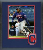 Miguel Sano 2018 Cleveland Indians - 11x14 Team Logo Matted/Framed Photo  - $43.95