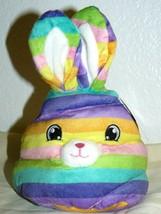 "GOFFA rainbow bunny plush head 8"" - $15.50"