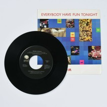 Wang Chung, Everybody Have Fun Tonight, 45 RPM Vinyl Record, w/ Original... - $9.85