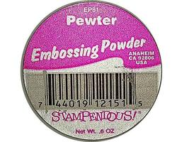 Stampendous Embossing Powder, Pewter #EP81 image 2