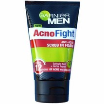 Garnier Men AcnoFight Anti Acne Scrub in Foam Facial Cleanser - $20.00+