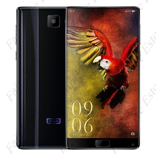 "Primary image for ELEPHONE S8 6.0"" SHARP 2K WQHD MTK6797T Deca-core Android 7.1.1 4G Phone (Black)"