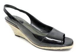 COLE HAAN Black Patent Pumps Size 8.5 Shoes Slingbacks Air 8 1/2 - $39.60