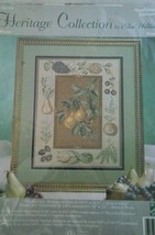 Heritage Collection Needlepoint Cross Stitch PEARS Elsa Williams #06014 NIP Kit - $15.00