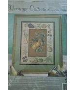 Heritage Collection Needlepoint Cross Stitch PEARS Elsa Williams #06014 ... - $15.00