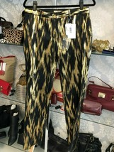 Michael Kors Collection Black & Gold Jacquard Style#KRZ210F Pant Sz 6 $1595 Nwt - $463.55