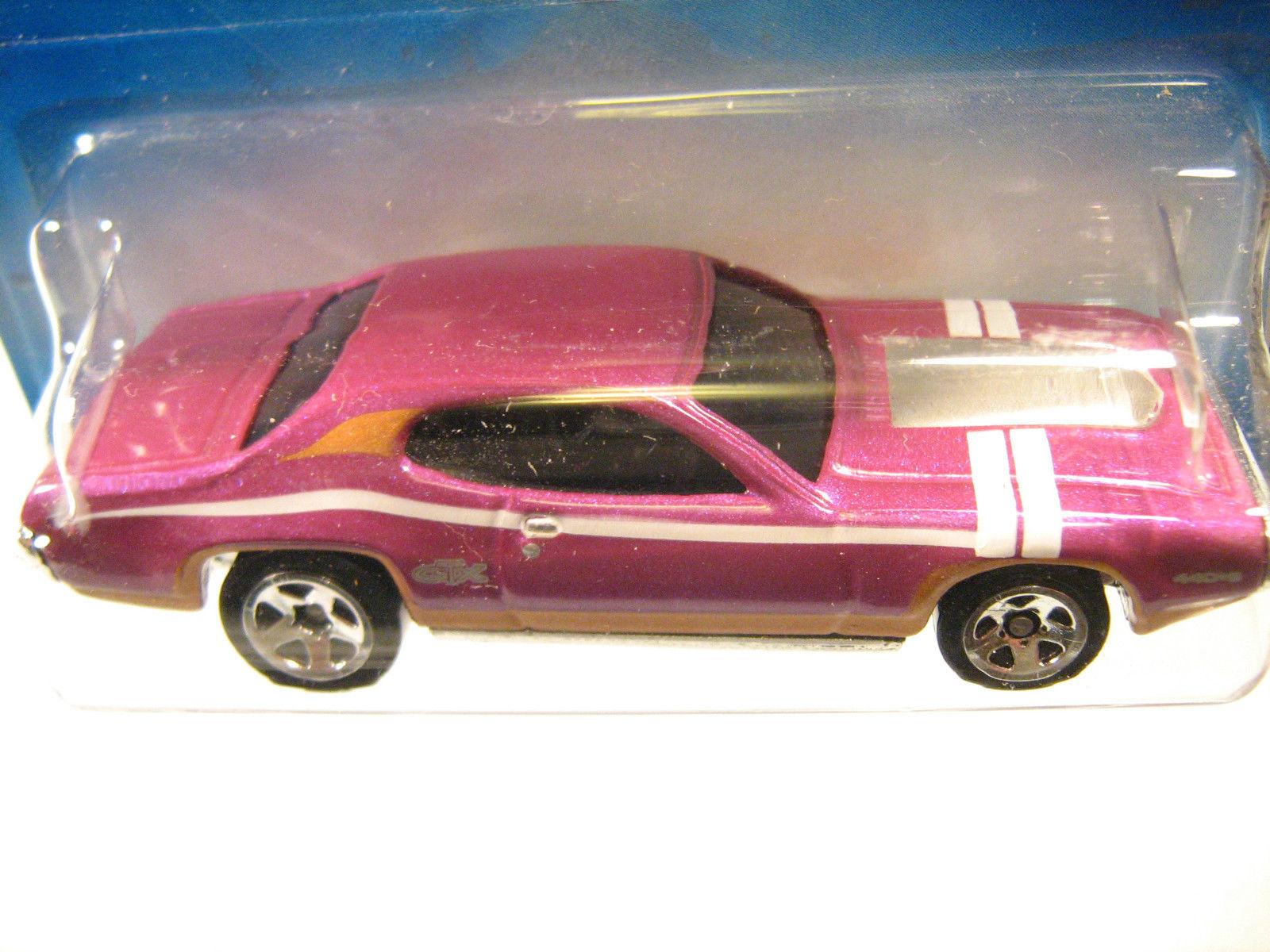 1:64 Scale 2008 HOT WHEELS '71 Plymouth GTX #4 [Y24] - $3.99