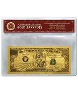 Nuovo $1 Million Dollaro USA Placcato Oro Banca Banconota + Espositore/B... - €11,35 EUR
