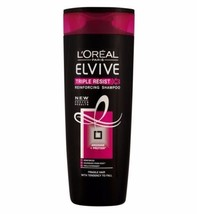 L'Oreal Elvive Triple Resist Shampoo 400ml - $8.96