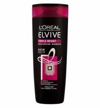 L'Oreal Elvive Triple Resist Shampoo 400ml - $8.96