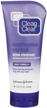 Clean & Clear Continuous Control Acne Cleanser, 5-Ounce Tubes - $19.99