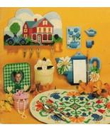 Plastic Canvas 12 Month Coaster Place Mats Key Holder Tea Pot Tissue Box... - $12.99