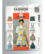 2003/McCall's Accessories/2947/Aprons/UNCUT Pattern - $4.99