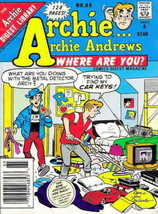 Archie…Archie Andrews, Where Are You? Digest Magazine #65 FN; Archie | save on s - $2.50