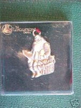 Longaberger Santa Claus Ornament Pewter New In Original Box Collectable - $10.84