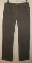 J.CREW Low-Rise Grey Stretch Cotton Corduroy Boot Cut Jeans (26S) - $29.30