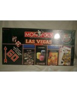 Hasbro Parker Brothers Monopoly Las Vegas Edition Game Factory Sealed - $18.89