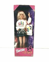 Vintage Barbie Loves to Shop at FAO Schwarz Doll Special Edition 1996 17... - $9.85