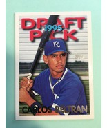 2003 Topps Carlos Beltran #18 Rookie RC Baseball Card Royals NM/M Condition - $7.99