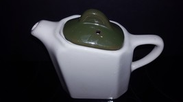 Vintage Hall #189 Pottery Syrup Pitcher- Rare two tone - $16.15