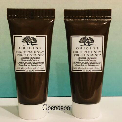 Primary image for NEW Origins High Potency Night-A-Mins Mineral Enriched Renewal Cream 1oz TOTAL