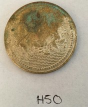 Goddess of Wealth LAKSHMI GANESH Buena Suerte Moneda REGALO PIEZA H50 - $9.10