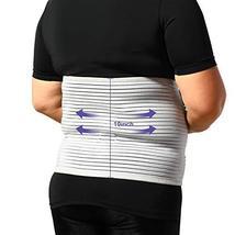 JOMECA Plus Size Bariatric Abdominal Binder, Hernia Support Compression Belt, St image 8