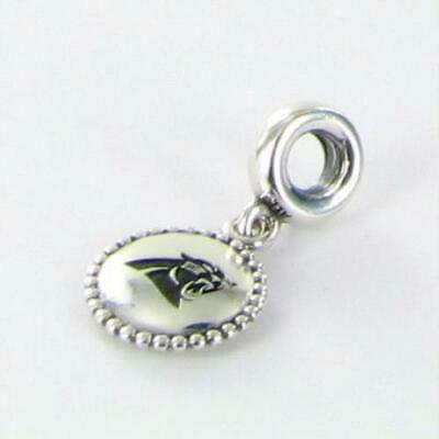 Pandora Carolina Panthers Dangle USB791169-G105 Charm NFL 925 New RARE