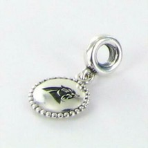 Pandora Carolina Panthers Dangle USB791169-G105 Charm NFL 925 New RARE - $130.95