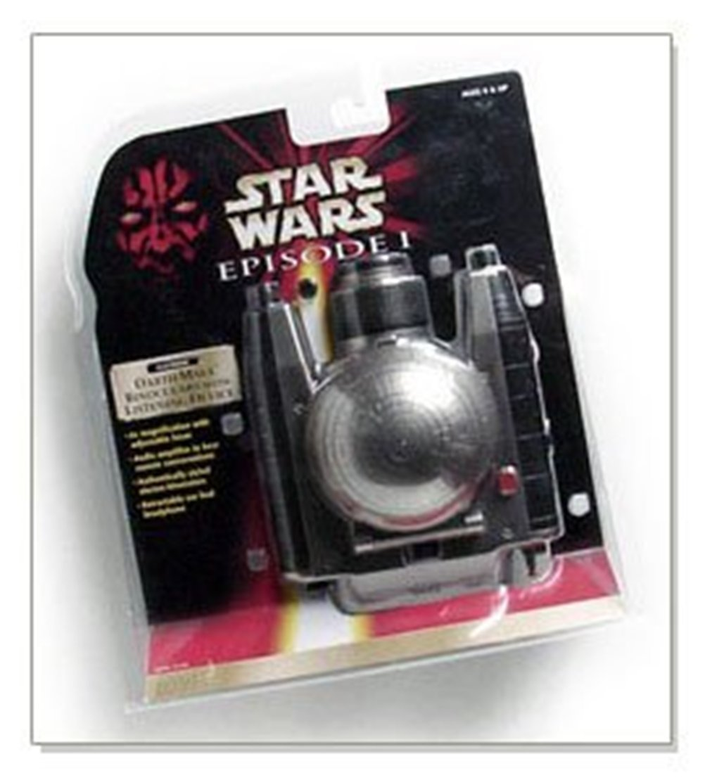 Star Wars DARTH MAUL ELECTRONIC BINOCULARS with LISTENING DEVICE