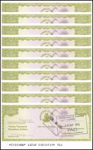 Zimbabwe 20,000 Dollars Cheque Amount Field X 10 Pieces (PCS), 2003, P-1... - $24.99