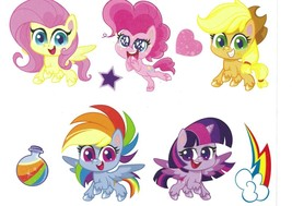 Roommates My Little Pony MLP Wall Decal Set RMK4297SS