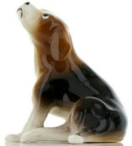 Hagen Renaker Specialty Dog Beagle Large Ceramic Figurine Larger Size