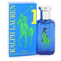 Big Pony Blue by Ralph Lauren Eau De Toilette Spray 1.7 oz for Men #547267 - $43.04