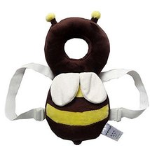 Cartoon Bee Baby's Head Protection Pad Headrest Angel Hat Drop Resistance Cap