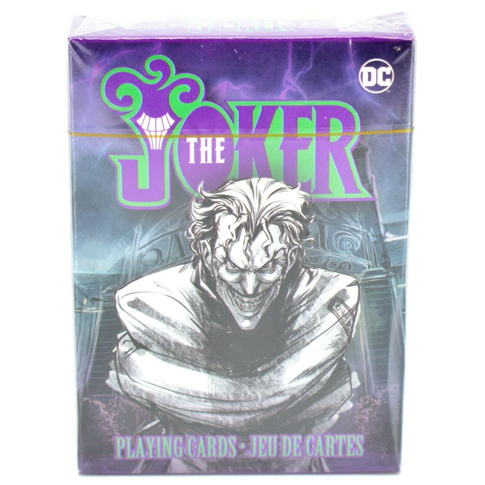 Aquarius DC Comics Batman The Joker Theme Playing Card Deck