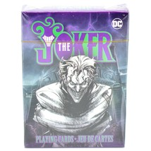 Aquarius DC Comics Batman The Joker Theme Playing Card Deck