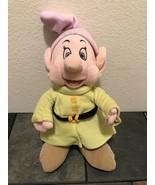 Vintage Disney Store Dopey Plush Snow White Seven Dwarves - $11.65