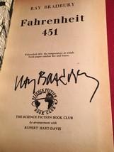 Ray Bradbury - Fahrenheit 451 - Signed - Early  - - $637.00