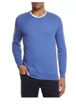 New $98 The Men's Store Bloomingdale's Cashmere Cotton Blue Laguna Sweater XL - $33.80