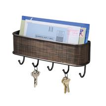 InterDesign Twillo Mail, Letter Holder, Key Rack Organizer - $18.76