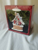 Hallmark Keepsake Ornament-Santa's Merry Workshop - $9.90