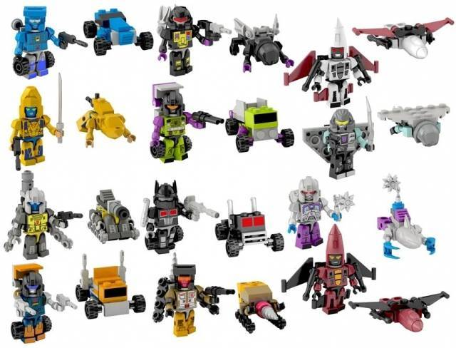 Primary image for Kre-o Transformers series 3 set of 12 mini figures