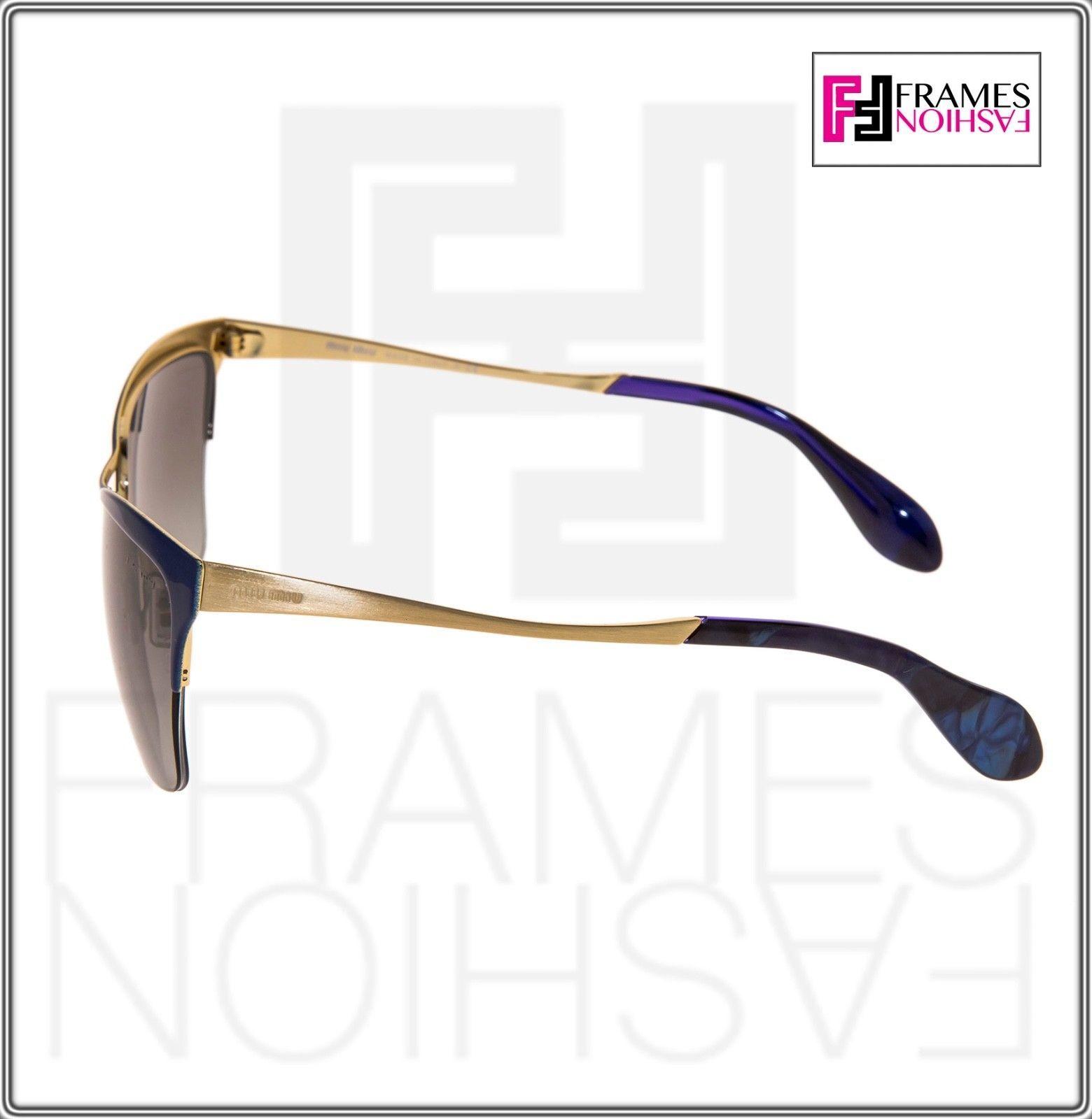 MIU MIU So Metal 50P Cat eye Sunglasses NAE-3M1 Gold Blue Gradient MU50PS