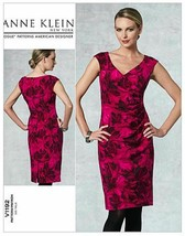 Vogue Patterns V1192 Misses Dress Sizes 8-14 Anne Klein  - $17.37