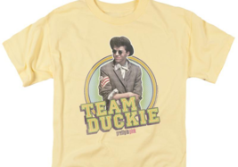 Pretty in Pink Retro 80s Team Duckie T-shirt John Cryer Molly Ringwald PAR469 image 3