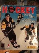 1988-89 Panini Hockey Sticker Album Plus Sticker Cards Set - $49.49