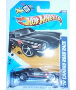 "Hot Wheels 2012 HW Performance ""70 Camaro"" #144/247 Mint On Sealed Card - £2.86 GBP"
