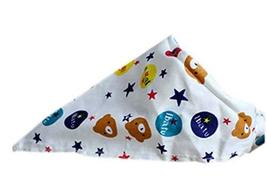 PANDA SUPERSTORE 2 Pieces of Fashionable Cute Pets Triangle Scarves/Headscarf, B